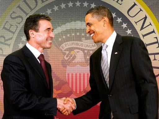 أوباما وراسموسن يتفقان على جعل القضية الأفغانية محور القمة الأطلسية في عام 2014