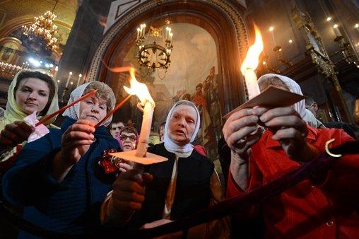 احتفالات عيد الفصح في روسيا