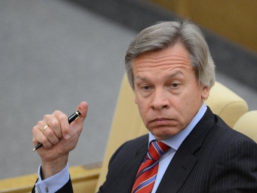 اليكسي بوشكوف رئيس لجنة مجلس الدوما للشؤون الدولية