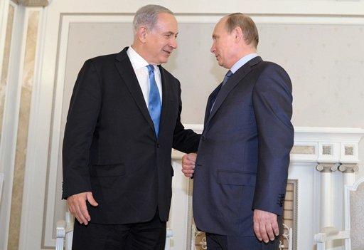بوتين ونتانياهو يتفقان على مواصلة الاتصالات الشخصية والمخابراتية من أجل حل سياسي في سورية
