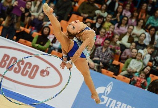 الروسية سفاتكوفسكايا بطلة لأوروبا للجمباز الفني