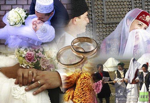 زفاف في أستراخان