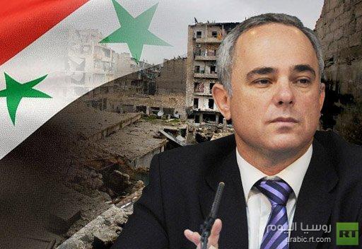 وزير المخابرات الإسرائيلي يرجح انتصار الأسد في نهاية الصراع في سورية
