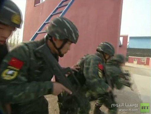تدريبات روسية صينية مشتركة لمكافحة الإرهاب
