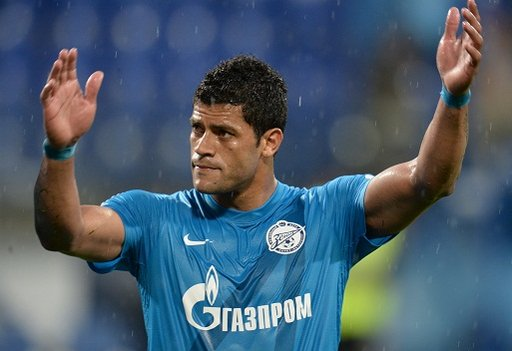 موناكو يتفق مع البرازيلي هالك لاعب زينيت الروسي
