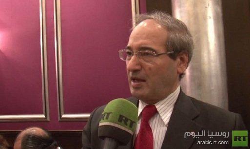 المقداد: مشاركة سورية في مؤتمر