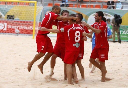 روسيا تفوز على ألمانيا بكرة القدم الشاطئية