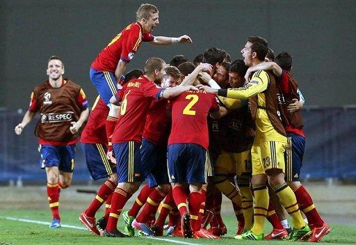إسبانيا على بعد خطوة من الدفاع عن لقب بطلة أوروبا