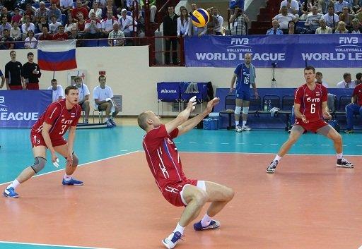 روسيا تجدد فوزها على صربيا في الدوري العالمي بالكرة الطائرة