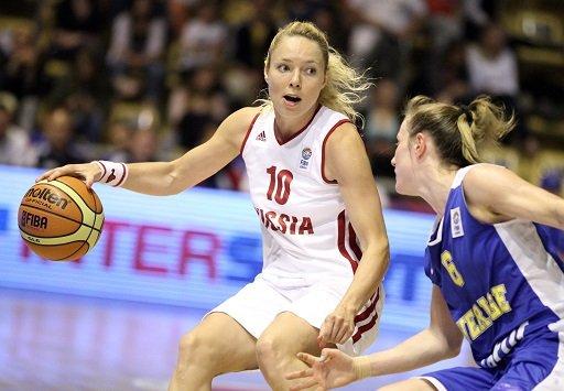منتخب سيدات روسيا يتعرض للهزيمة الثانية في بطولة أوروبا بالسلة