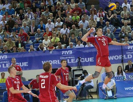 إيطاليا توقف انتصارات روسيا في الدوري العالمي لكرة الطائرة