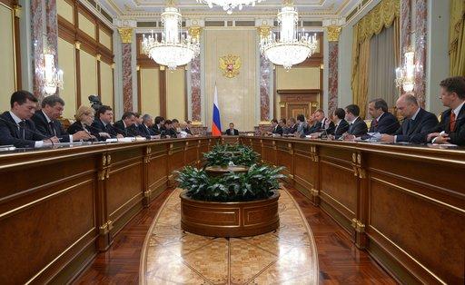 اعادة توزيع الصلاحيات في الحكومة الروسية