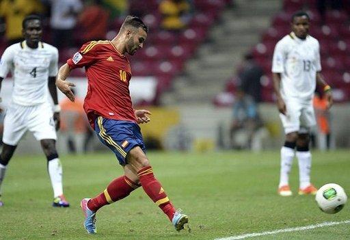إسبانيا تهزم غانا وتبلغ ثمن نهائي مونديال تركيا للشباب