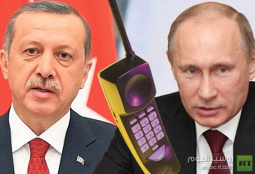 بوتين وأردوغان يتفقان على تنسيق الجهود لتسوية الأزمة السورية