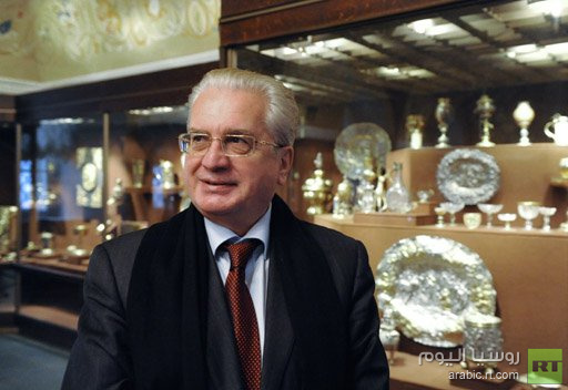 مدير متحف أرميتاج يطرح خطة جديدة لتطوير المتحف لغاية عام 2022