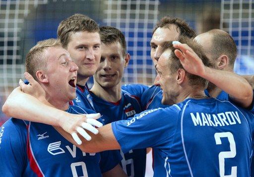 روسيا تعمق جراح كوبا في الدوري العالمي لكرة الطائرة