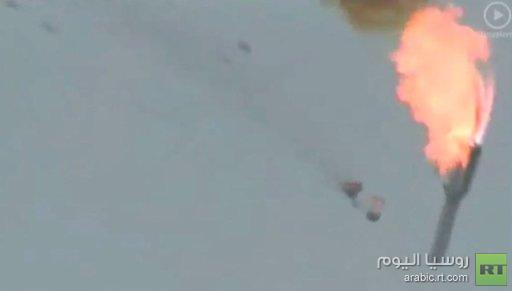 بالفيديو... سقوط صاروخ بروتون قرب منصة الاقلاع في بايكونور بكازاخستان بعد دقيقة واحدة من إقلاعه