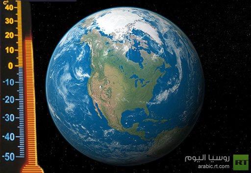 درجات الحرارة على سطح الارض تسجل ارقاما قياسية