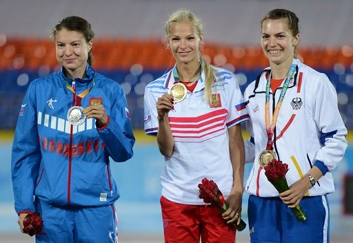 الروسية كليشينا تتوج بذهبية الوثب الطويل في يونيفرسياد 2013