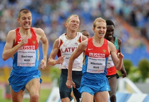 سميرنوف يفوز بذهبية سباق 1500 م في الألعاب الجامعية