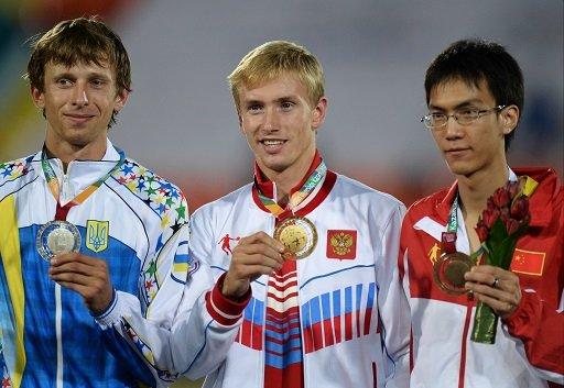 الروسي مودروف يحرز ذهبية الوثب العالي في دورة الألعاب الجامعية 2013