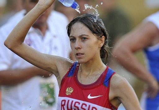 روسيا تحتكر منصة التتويج لسباق المشي 20 كم للسيدات في
