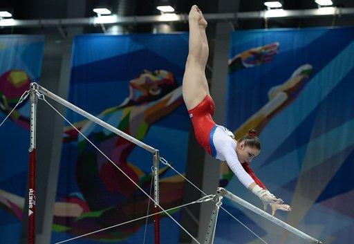 مصطافينا تحرز الذهبية الثالثة للجمباز في دورة الألعاب الجامعية 2013