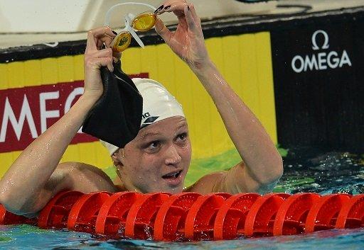 يونيفرسياد 2013 .. السباحة البيلاروسية غيراسيمينيا تحرز ذهبية 50 م