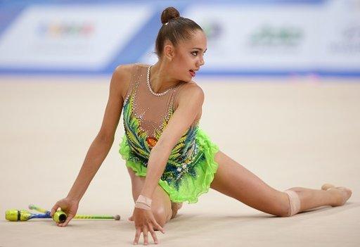 الروسية مامون تتوج بذهبية الجمباز الإيقاعي في الألعاب الجامعية 2013