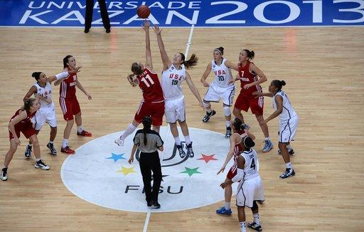سيدات أمريكا يفزن بذهبية كرة السلة في الألعاب الجامعية