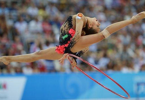 الجمبازة الروسية مامون تتوج بالذهبية الثانية في الألعاب الجامعية 2013