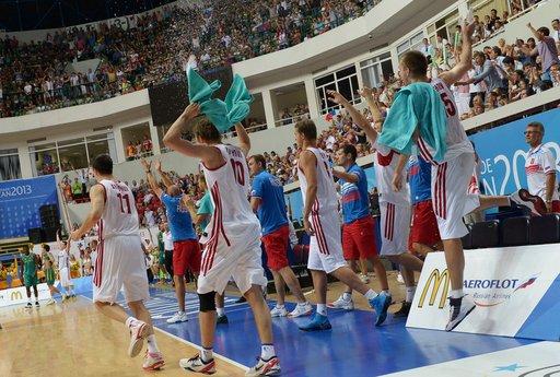 روسيا تتوج بذهبية كرة السلة في اليونيفرسياد