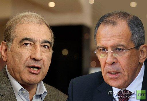الخارجية الروسية: لافروف يلتقي قدري جميل الاثنين القادم لبحث الوضع في سورية