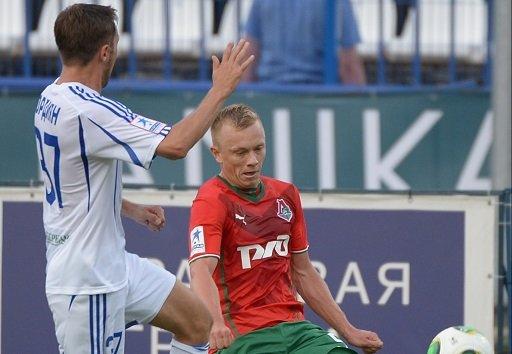 لوكوموتيف موسكو ينتزع الفوز من فولغا في الوقت القاتل
