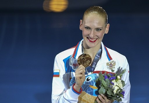 روماشينا تحرز باكورة ذهبيات روسيا في بطولة العالم للسباحة