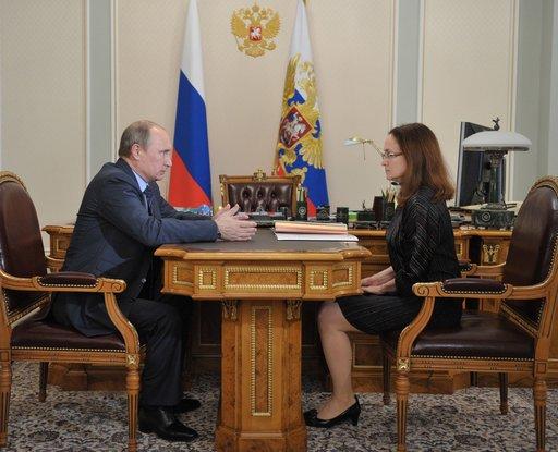 رئيسة البنك المركزي الروسي تتعهد بكبح جماح التضخم في البلاد