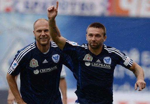 فولغا يحقق فوزه الأول في الدوري الروسي الممتاز