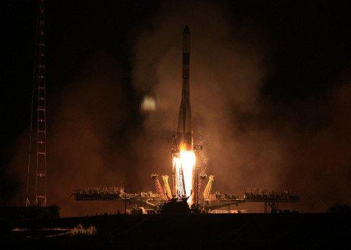 مركبة شحن فضائية روسية تلتحم بالمحطة الفضائية الدولية