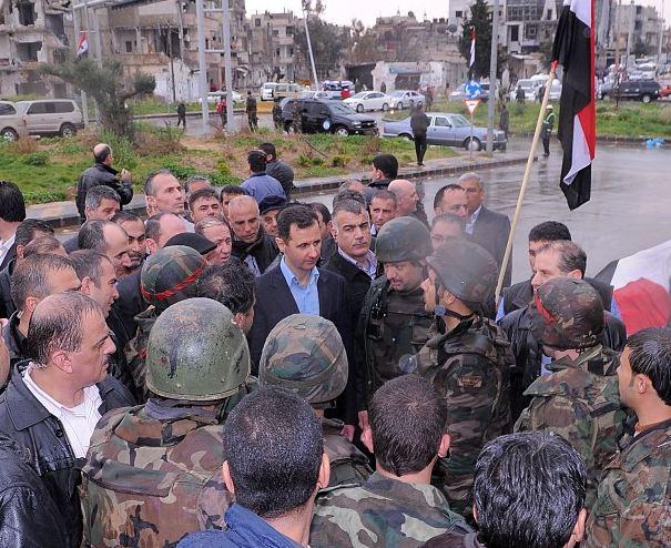 الرئاسة السورية تطلق حساباً على