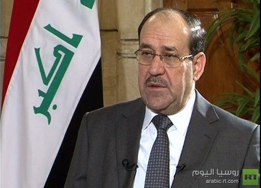 المالكي يؤكد إحراز تقدم كبير في العمليات العسكرية حول بغداد ويدعو أكراد سورية الى عدم الانضمام للمتطرفين