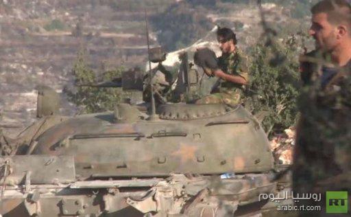 الجيش السوري يهاجم مواقع جبهة النصرة في ريف اللاذقية
