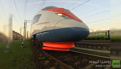 خط قطارات سريع يربط موسكو بقازان