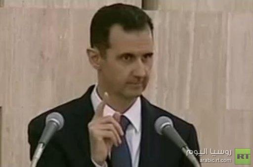 الأسد: الخير لن يأتينا من أصحاب الفكر الظلامي، بل من المواطنين السوريين أنفسهم
