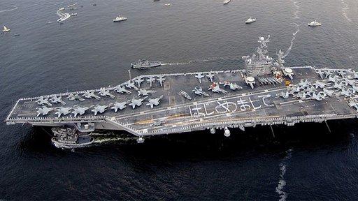 الولايات المتحدة تقلص عدد حاملات الطائرات