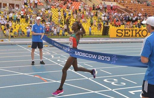 الكينية كيبلاجات تدخل التاريخ في بطولة العالم لألعاب القوى