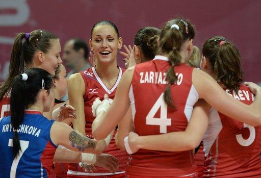 كرة الطائرة... سيدات روسيا يهزمن التايلنديات في بطولة الجائزة الكبرى