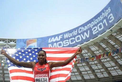 بريتني تحرز باكورة ميداليات أمريكا في بطولة العالم لألعاب القوى في موسكو