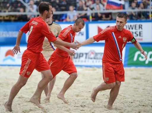روسيا تحرز لقب الدوري الأوروبي بكرة القدم الشاطئية