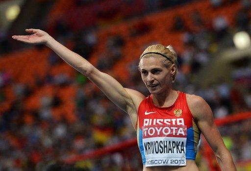 الروسية كريفاشابكا تهدي بلادها برونزية سباق 400 متر في بطولة العالم