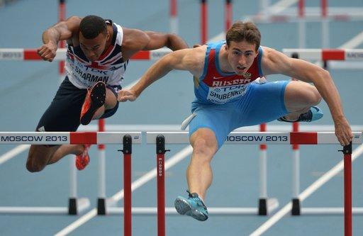 شوبنيكوف يتوج ببرونزية العالم في سباق 110 امتار حواجز